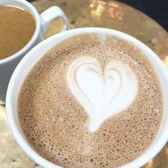Image of a Latte - Follow Psychic Medium and Mentor @LindsayMarinoMedium on Instagram